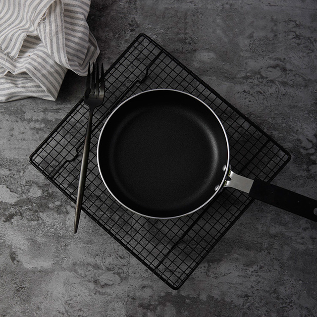 Подставка для выпечки в черную клетку печенье пирог стойка для хлеба торта охлаждающая стойка для съемки аксессуары Реквизит фотография для еды фото