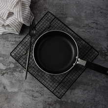 Black Grid Baking Tray Stand Biscuit Cookie Pie Bread Cake Rack Cooling Rack Shoot Accessories Props Photography for Food Photo