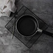 Grille noire au four fer cadre grille à pain support à gâteaux de cuisson pour aliments pain photographie accessoires Studio Photo accessoires fotostudio
