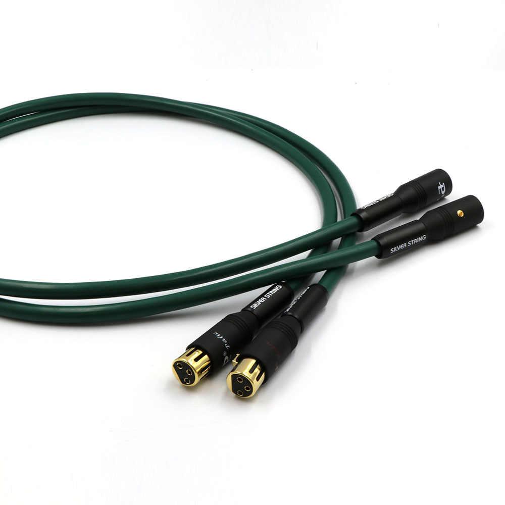Пара hi-end FA-220 PCOCC компакт-дисков медный Соединительный аудио кабель XLR аудио/видео провода hi-Fi шнур баланса
