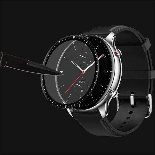 3D Curved Full Edge Soft Protective Film For Xiaomi Huami Amazfit GTR 2 Screen Protector for Amazfit Watch GTR2 Smartwatch Cover 3