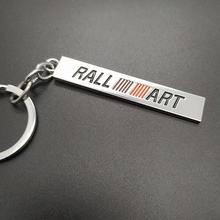 Брелок для ключей mitsubishi ralliart lancer 10 asx ralli art