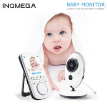 INQMEGA Wireless LCD Audio Video Baby Monitor Radio Nanny Musik Intercom IR Tragbare Baby Kamera Baby Walkie Talkie Babysitter(China)