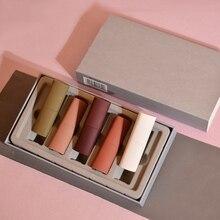 5Pcs/Set Velvet Matte Lipsticks Long Lasting Waterproof Lip Makeup