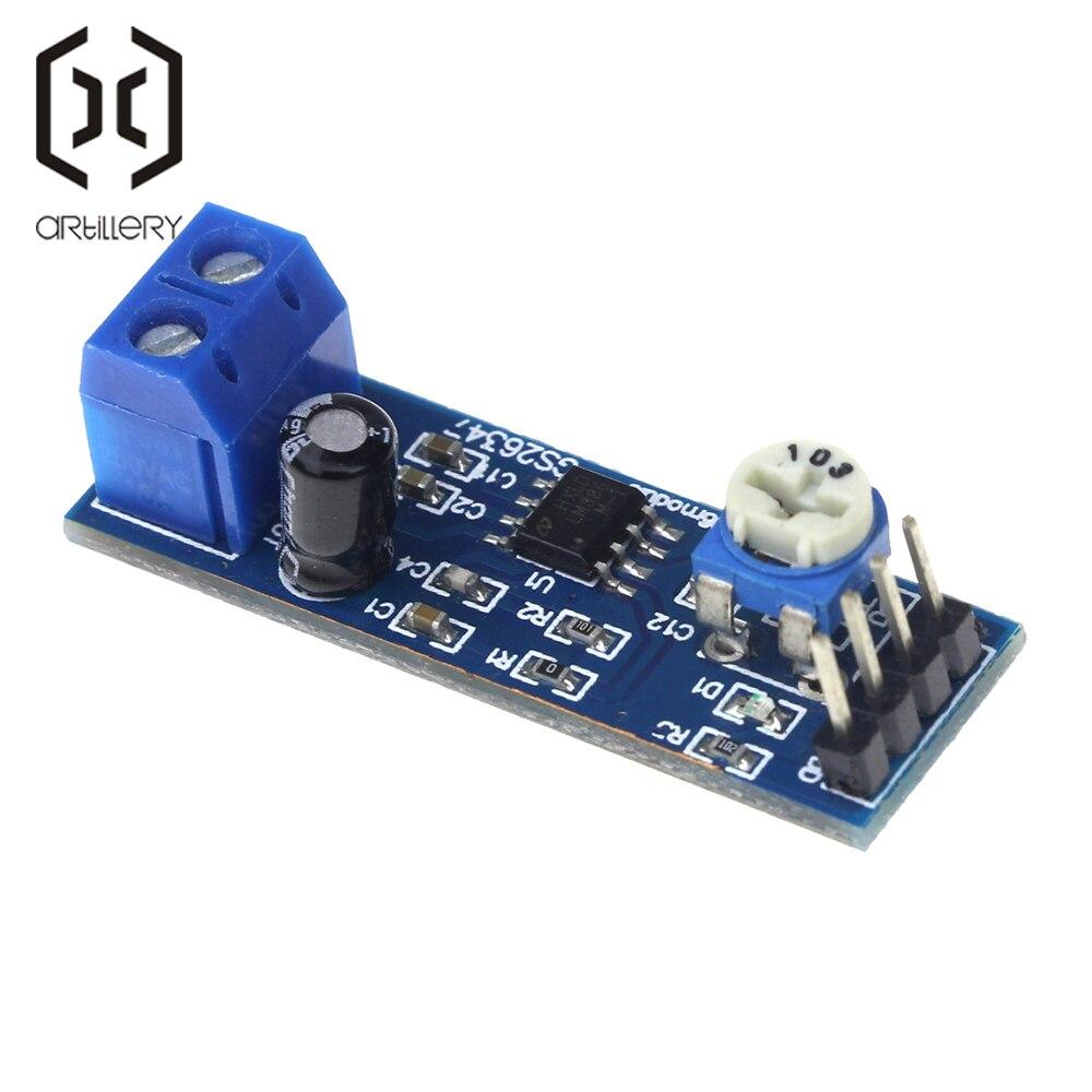 LM386 Audio Amplifier Module 200 Times 5V-12V Input 10K Resistance