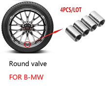 Piston-Valve-Stem-Cap E46 Car-Tire/rim Bmw M Dust-Rim Aluminium-Alloy 4pcs for F10 F20