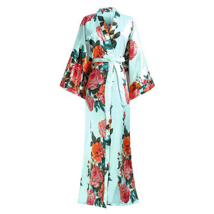 For-Female-Print-Flower-Satin-Spring-Sleepwear-Intimate-Lingerie-Kimono-Bathrobe-Gown-Home-Clothing-Large-Size (3)
