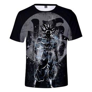 Summer Dragon Ball T Shirt 2020 Goku Vegeta Anime Shirts 3d Printed Mens Tshirt Casual Funny Top Drop Shipping