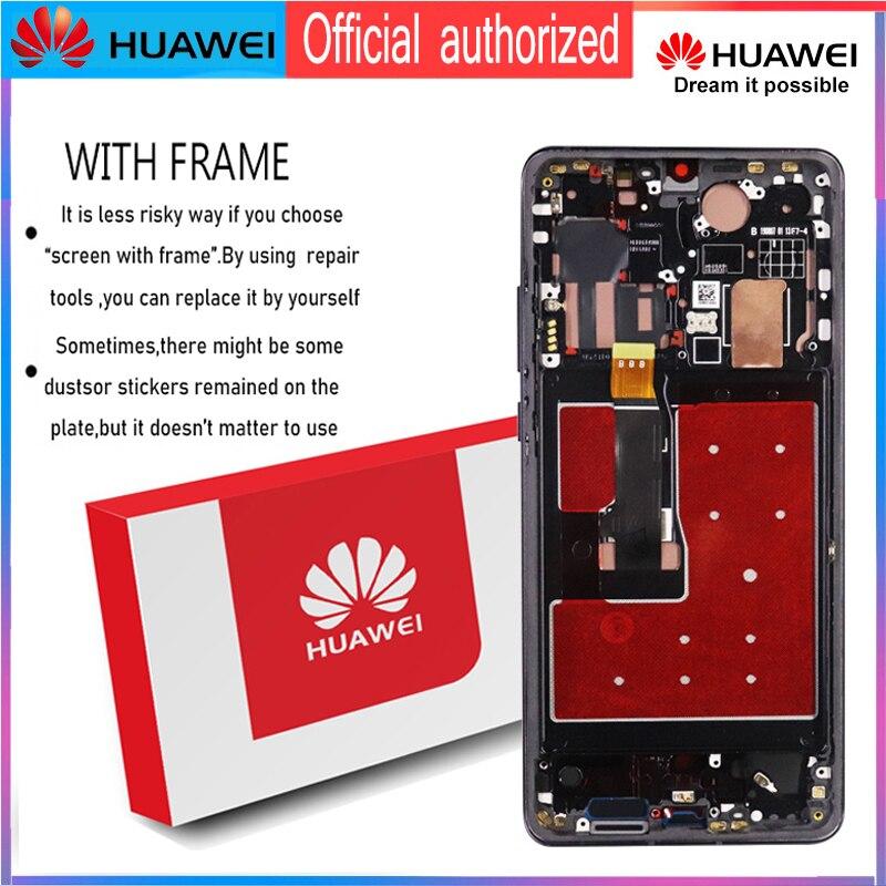 """Image 4 - Dorigine 6.47 """"avec cadre De Remplacement pour Huawei P30 Pro Dassemblée de convertisseur analogique Numérique Décran Tactile daffichage à cristaux liquides de VOG L29 VOG L09 VOG L04Écrans LCD téléphone portable   -"""