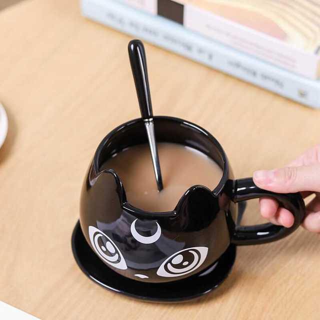 Black Cat Ceramics Coffee Mug 6