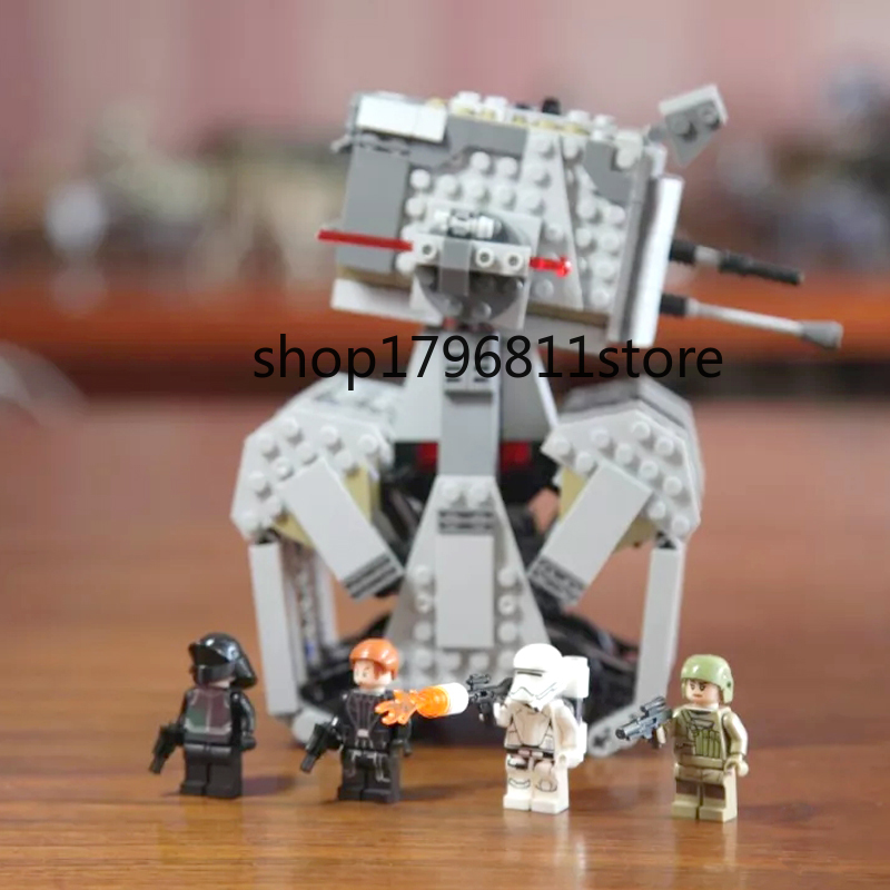 10899 578pcs Star Wars First Order Heavy Scout Walker Building Block Blocks Children's Christmas gift Compatible with <font><b>75177</b></font> image