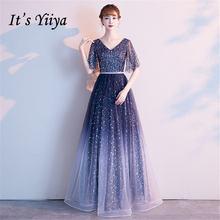 Женское вечернее платье it's yiiya Элегантное Длинное Платье