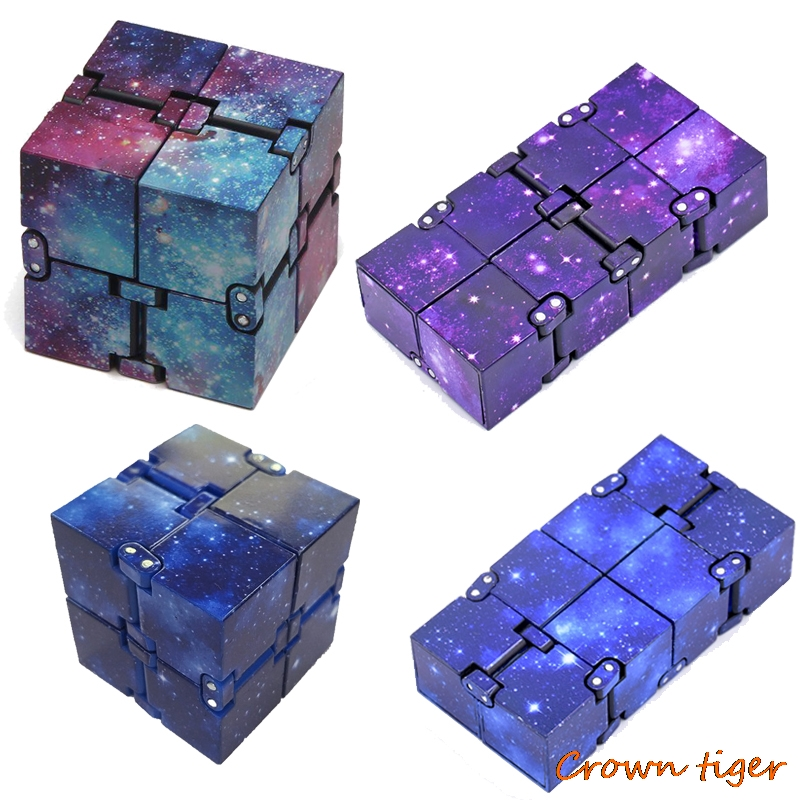 infinity cube antistress cube fidget toys cube stress relief cube toy for children kids women men sensory toys for autism adhd