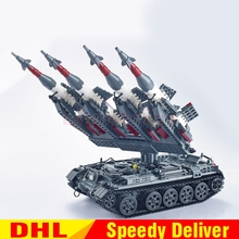 Military Series Xingbao 06004 The Sa-3 Missile And T55 Tank Set Children Building Blocks Bricks Leinly Toys Gifts Clone