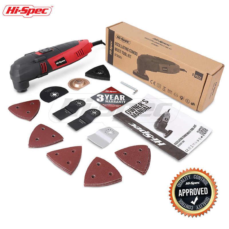 Hi-Spec 220 В электрическая пила, Ремонтный Осциллирующий Мультитул, триммер для деревообработки, инструменты, станок для обрезки, генератор DT30301