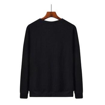 WWKK 2020 NEW Sweatshirt Men LEON Mr. Chicken Print New Hoodie Black Sweatshirts Warm Hip Hop Streetwear Mens 2