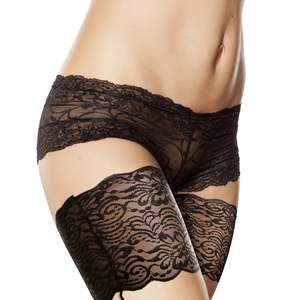 Leg-Warmers Anti-Friction Thigh-Bands Bandelettes Women's Lace No Phone-Card Sexy Silicone
