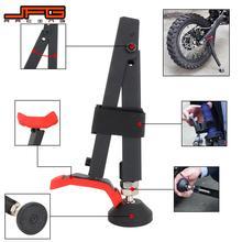 حامل جانبي لدعم عجلة الدراجة النارية ، حامل Swingarm للدراجة النارية لـ KTM YAMAHA HONAD YAMAHA SUZUKI ، أداة إصلاح الدراجة الترابية