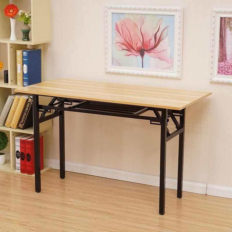 Rectangular Folding Table Simple 2 Human Small Table Simplicity 1 M 2 Small Household 4 People Eating Small Table