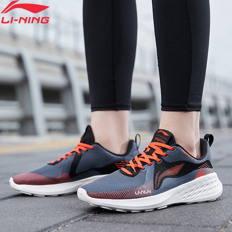 Li-Ning Men SOFT ELEMENT Cushion Running Shoes EVA Light Weight LiNing Li Ning Fitness Sport Shoes Sneakers ARHQ025 XYP964