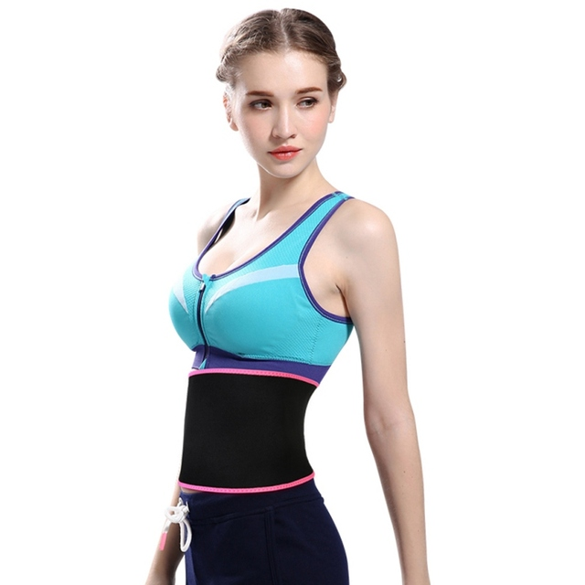 Weight Loss  Waist Trimmer Belt Sweat Band Wrap Fat Tummy Stomach Sauna Sweat Belt body shaper Sport Safe Accessories 1