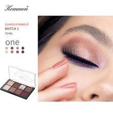 New Mode Eyeshadow Cosmetics 8 Colours Matte Oogschaduw Glitter Oogschaduw Makeup Metal Matter Longlasting Eyeshadow Palette