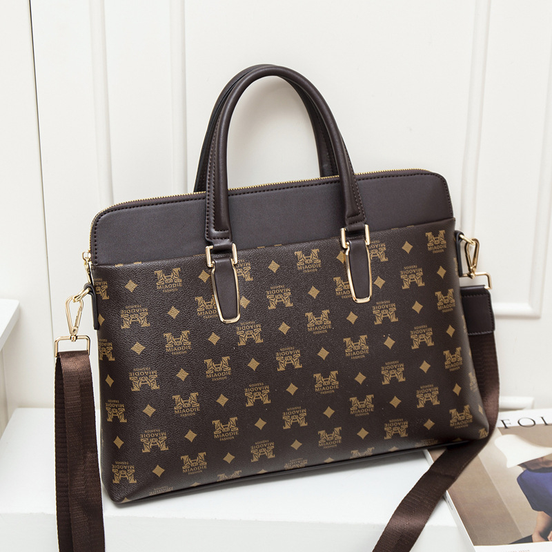 Women Leather Briefcase Bags For 13.3