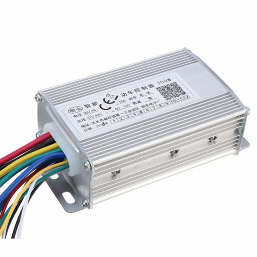 36V/48W 350W Waterproof Design Brush Speed Motor Controller for Electric Scooter Bicycle E-Bike Tricycle Controller 5