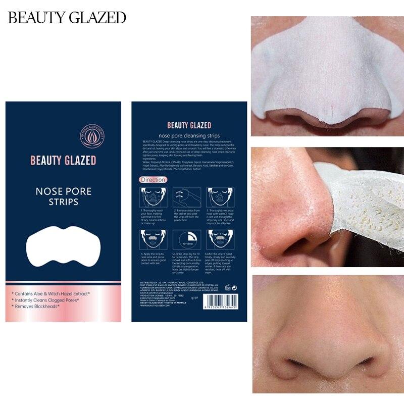 Маска для лица Beauty Glazed, средство для удаления чёрных точек и прыщей на лице