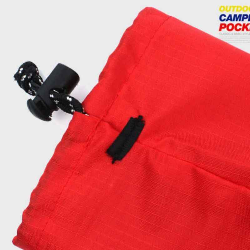 防水巾着収納袋耐久性のあるフック下着オーガナイザー屋外スポーツハイキング旅行サバイバルキャンプ用品