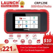 إطلاق X431 CRP129E OBD2 أداة تشخيص ل ENG/AT/ABS/SRS متعدد اللغات تحديث مجاني CRP123E CRP123 كريدر الثامن CRP129X