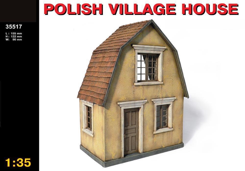 Assembling Building Scene Model 35517  1/35 Polish ViLLage House
