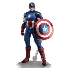 Figurine Disney marvel Captain America Steve Rogers Avengers, 15cm, jouets pour enfants