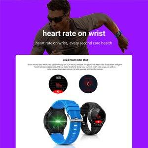 Image 4 - SENBONO reloj inteligente con GPS para hombre y mujer, reloj inteligente deportivo con control del ritmo cardíaco, Bluetooth, llamadas, IP67