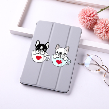 For iPad Pro 11 Case Cut Dog Magnetic Ultra Slim Smart Cover For iPad Pro 11 inch Case Support Wireless Charge For iPad 11'' Pro for ipad pro 9 7 inch ultra slim smart cover leather case with matte translucent back case for apple ipad pro no iprs4