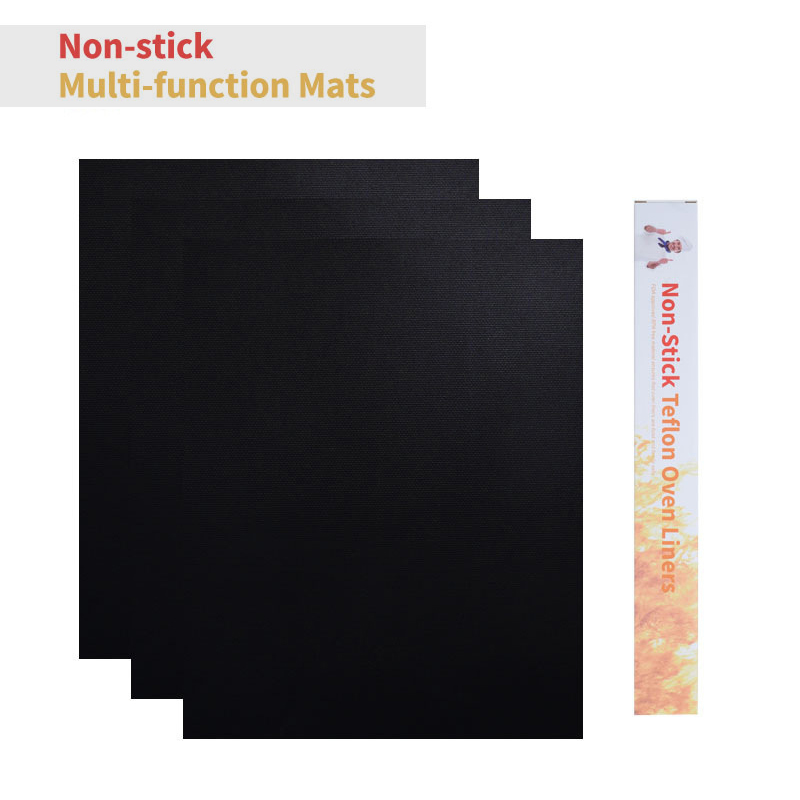 5Pcs BBQ Grill Mat Outdoor Baking Non-Stick Pad 40*50cm Household Kitchen Oven Baking Mat Reusable Cooking Plate Barbecue Mat