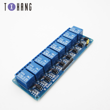 цены 5V 8-channel relay module board PIC AVR MCU DSP ARM electronic 8-channel relay module for arduino relay compatible board
