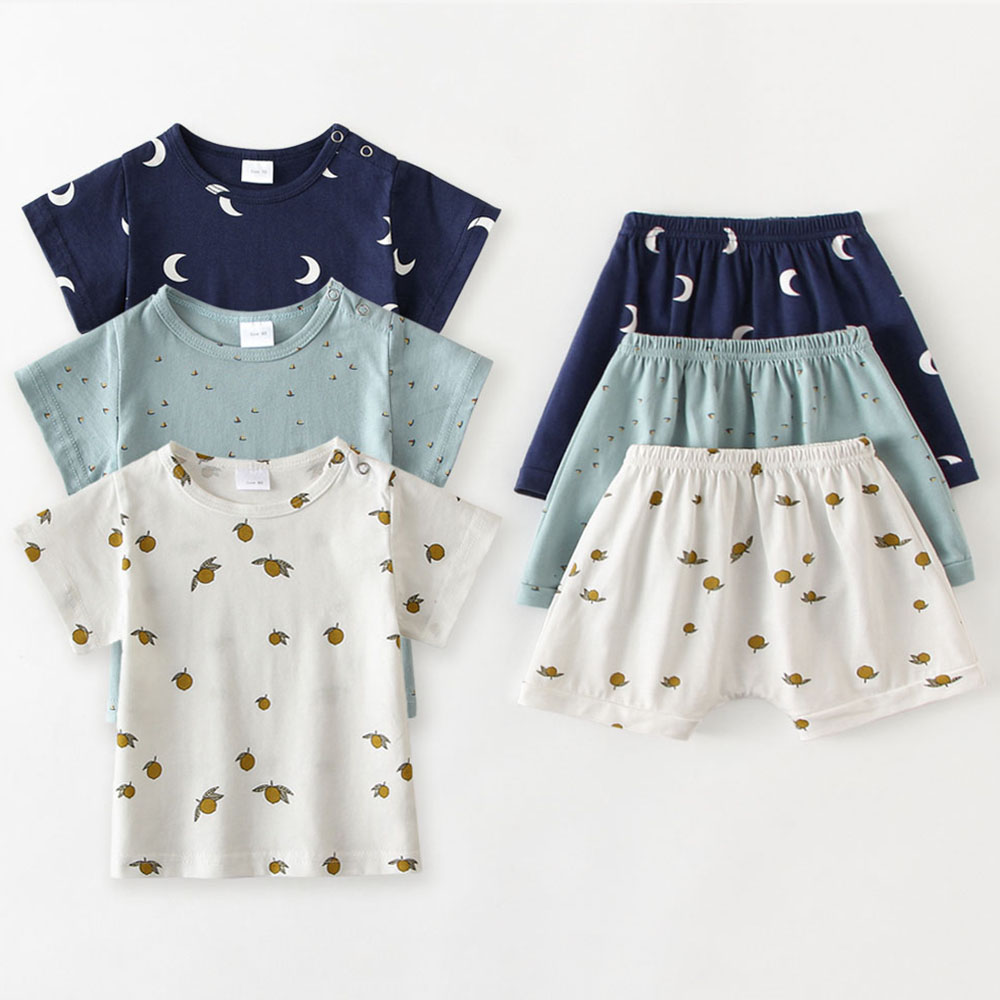 0-3Y Baby Clothes Summer Baby Boy Girls T-shirts Fashion Soft Cotton Toddler Kids Tops Tees Newborn Baby Tees For Boy Girls
