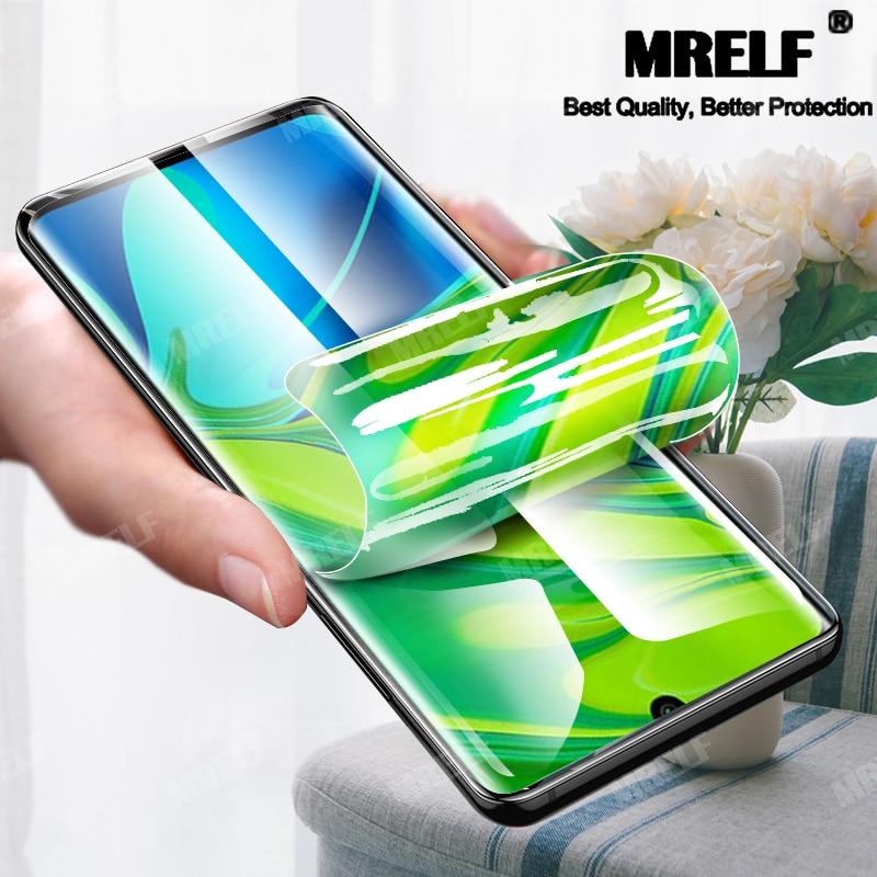 Гидрогелевая пленка для samsung Galaxy S10 S9 S10e S8 Plus, Защитная пленка для экрана S9 для samsung Note 10 9 8 Plus Pro (не стекло)