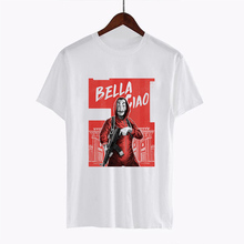 LUCKYROLL Money Heist Tshirt The House of Paper La Casa De Papel T Shirt Women S