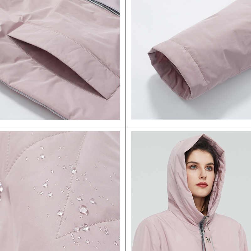 Astrid 2020 ฤดูใบไม้ผลิใหม่มาถึงผู้หญิงเสื้อแจ็คเก็ตคุณภาพสูง PLUS ขนาดกลางความยาวสไตล์ซิปผู้หญิงแฟชั่น AM-8608