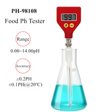 PH-98108 pocket-sized pH Meter Food pH Tester Acidity Meter Soil Meter for Plants Flowers Vegetable Acidity Moisture 40% off