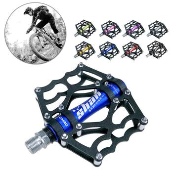 цена на 1 pair Mountain Bike Pedals MTB Bicycle Seald Bearing Aluminum Alloy Pedal Bicycle Cycling Replacement Tools Parts