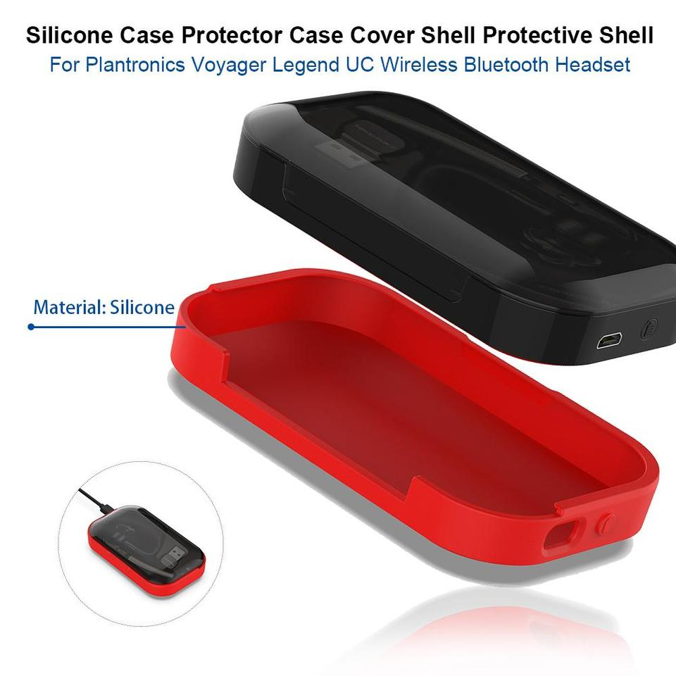 Silicone Case Protector Case Cover Shell Protective Shell For Plantronics Voyager Legend Uc Wireless Bluetooth Headset Accessory Aliexpress
