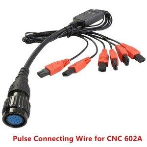 Image 2 - Fabriek Originele Speciale Pulse Aansluitdraad 1 Om 6 Injector Test Signaal Draad Voor Launch CNC602A Injector Cleaner En Tester