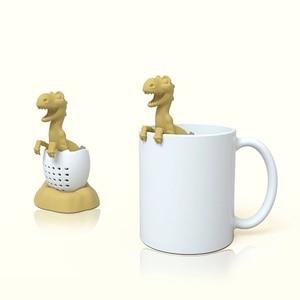 Image 5 - Zetgroep En Diffuser Siliconen Thee Herbruikbare Koffie Zeef Keuken Accessoires Thee Loch Ness Monster Yoro