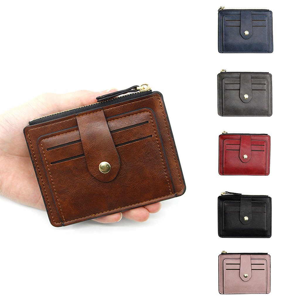 Women's New Fashion Small Pocket Zip Wallet Carteira Portfel Wallets Bag Monederos Para Mujer Portefeuille Femme кошелек женский