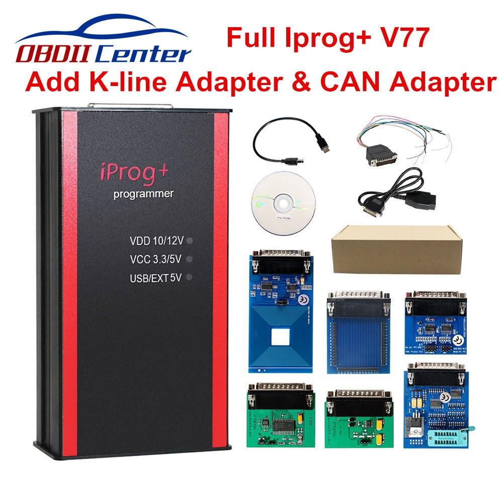 2019 Iprog Pro V80 Key Programmer Odometer Correction Airbag Reset Tool Iprog+ IMMO DPF Replace Digiprog3 Carprog V8.21 Online