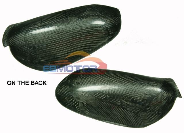 Real Carbon Fiber Mirror 1pair For Porsche 911 996 Boxster 986 1998-2004 T052M 6