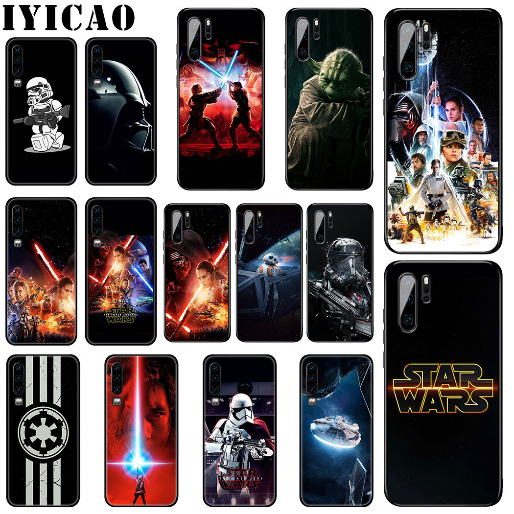 IYICAO STAR WARS COMIC DARTH Soft Silicone Case for Huawei P Smart Z Plus 2019 P30 P20 P10 Lite Pro Phone Case image